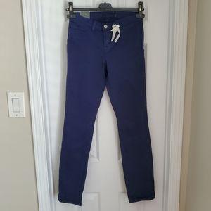 $220 NWT! J Brand Skinny Leg Mid-Rise Blue Jeans